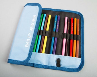 1 Custom Pencil Case with Pencils