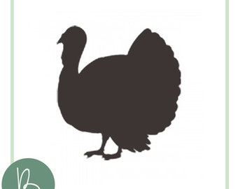 Turkey Silhouette SVG File