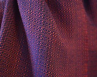 Hand woven luxury silk scarf