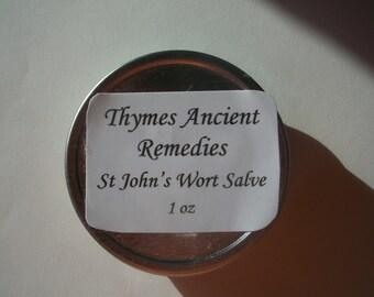 St John's Wort Salve