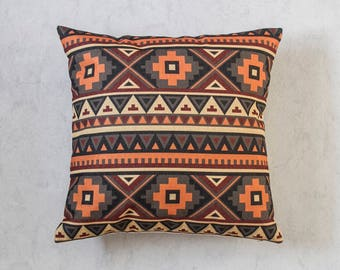Boho Pillow Cover, Bohemia Pattern Pillow Covers, Aztec Pillow Covers, Throw Pillows, Boho Cushion Cover,Decorative Pillow Covers