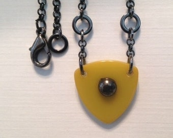 Bakelite Triangle Necklace