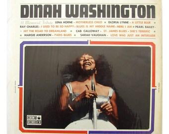 Dinah Washington: A Memorial Tribute - Vinyl LP Record