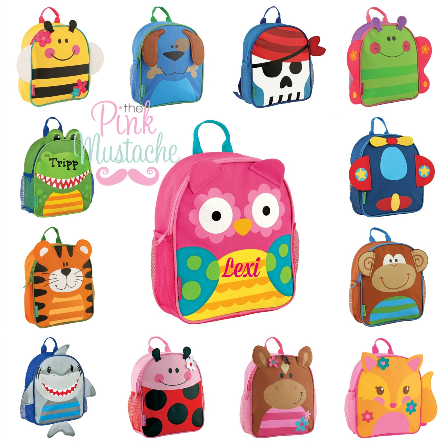 Mini Sidekick Stephen Joseph Backpack Personalized
