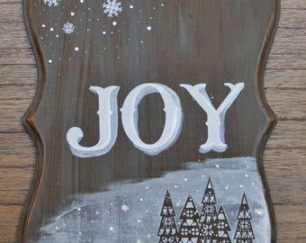 Joy / Holiday Sign