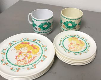 Cabbage Patch Kids dishes