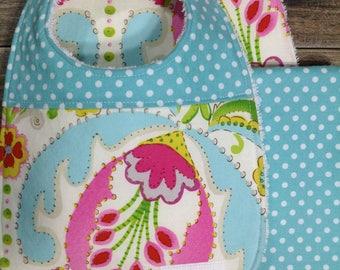 Burp Cloth Baby Shower Gift Burp Cloths Burp Cloth Set Burping Baby Girl Gift Baby Burp Cloth Baby Gift Burp Rags Baby Burp Clothes