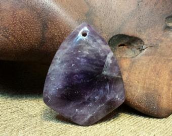 Sale #EarthDay ~ Beautiful and Dramatic Natural Purple Amethyst Quadrangle Fish Head