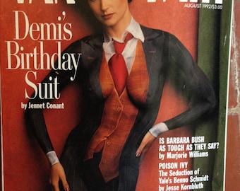 Demi Moore Vanity Fair Magazines