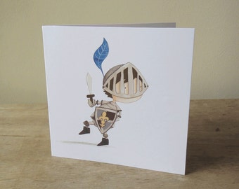 Illustrated Card: Knight in Shining Armour