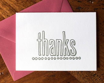Just Thanks - Card