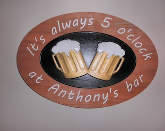 Tavern signs Man cave sign Bar signs, Tavern plaque signs Customized business signs Bar signs Wedding bar sign Carved wooden signs