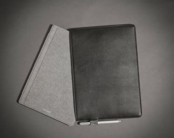 Surface Pro Sleeve, Surface Pro Case, Leather Sleeve Case, Surface Pro Cover, Surface Pro Skin
