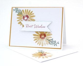 Stamped Handmade Card / SS008C