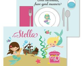 Mermaid Manners Mat