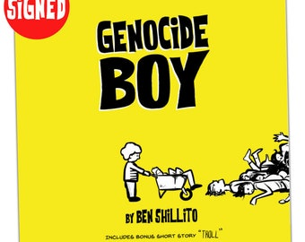 Genocide Boy (Graphic Novel - Signed)