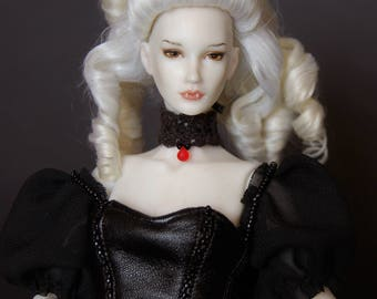 Art porcelain ball jointed doll BJD 1/6