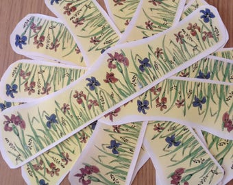 Lot of Decals - Flowers