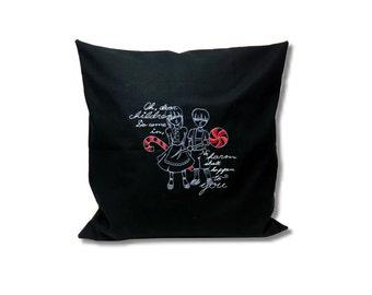 Dark Fairytale Cushion  Hansel und Gretel