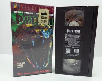 Python VHS Tape