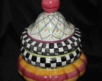 Mackenzie-Childs, Groovy Multi-Purpose Bowl