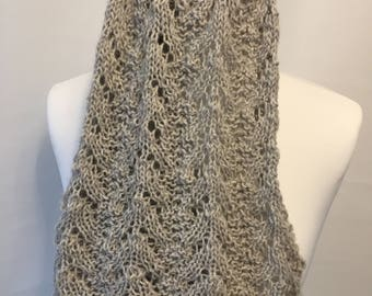 knitting pattern scarf