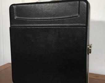 Vintage Platt Traveling Bar Case in Black