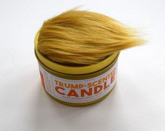 14 oz Anti Trump Trump Scented Candle | Political humor | Funny candle | Funny gift for Democrats | Gift for liberals