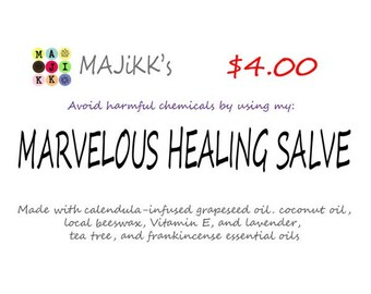 Marvelous Healing Salve