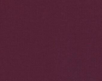 Garnet - Kona Cotton - Robert Kaufman 100% solid cotton quilt weight fabric Fat Quarters quilting dressmaking UK Shop K001-1151