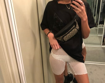 Fish net shorts