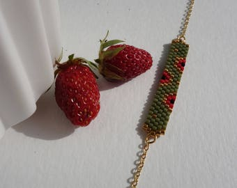 "Bracelet ""lucky sweet poppy"""