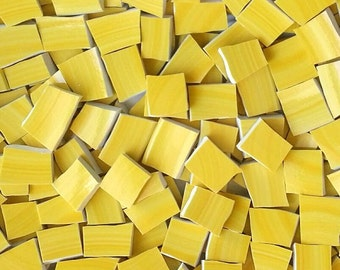Mosaic Tiles-Lemon Swirl--50 Tiles
