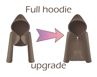Full hoodie upgrade for your shrug order