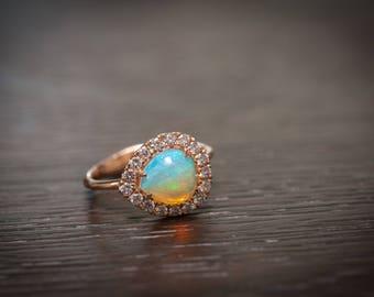 Lexi Rose Gold Ring