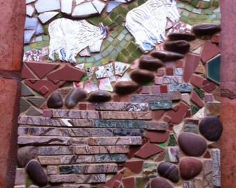Mountain Goats Mosaic