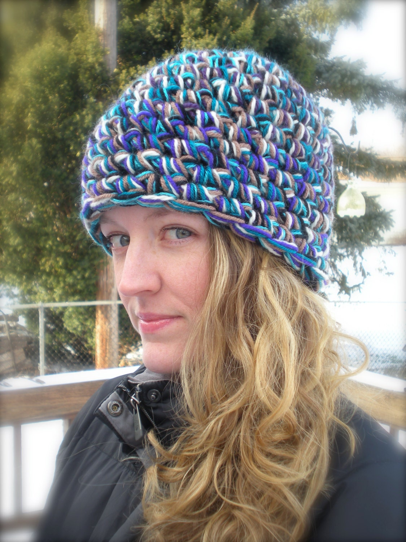 Famoso Crochet Un Patrón Beanie Colección - Ideas de Patrones de ...