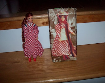 Jody Doll Idea Country Girl Doll Barbie Vintage Dolls Toys Action Figure