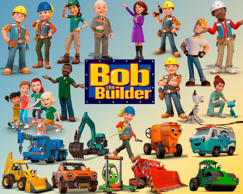 Excelente Bob The Builder Para Colorear Mareado Viñeta - Enmarcado ...
