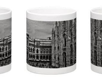 Souvenir Milan, Duomo, colored photographic mug