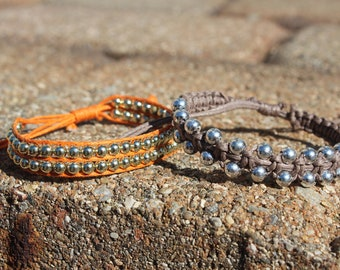 Beaded String Stacking Bracelet
