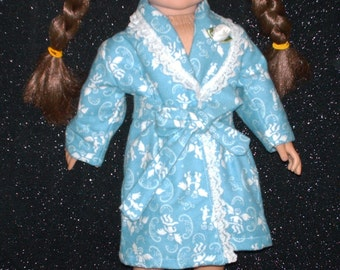 Blue angels robe for American Girl doll.