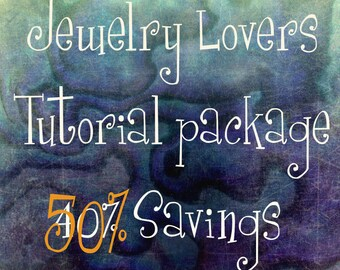 Wire Jewelry Lovers Tutorial Discount Special, Get ALL 27 Tutorials, 48 Patterns & Variations Save 120.00 and 8 FREE Tutorials, Wire Jewelry