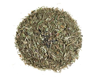 Vervain Verbena Dried Fine Cut Leaves & Stems - Verbena Officinalis