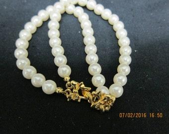 Avon Simulated Pearl Bracelet