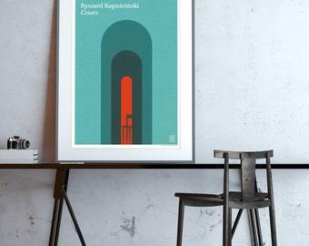 Cesarz (Ryszard Kapuściński) – plakat B2, edycja limitowana