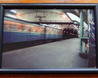 Paris Metro / Subway (1965) 8x12 Kodacrhome Print