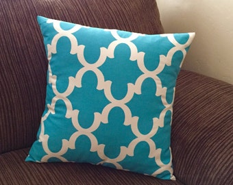 Pillow Shams - Throw Pillows - Couch Pillows - Teal Pillow Cover - Teal Pillow - Decorative Pillow - Accent Pillow Cover