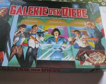 Vintage Gesellschaftsspiel,Galerie der Diebe,Würfelspiel,Deutschland um 1980,sehr guter Zustand/Parker