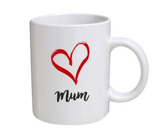 Can be Personalised Mother's Day Mug - for a great mum.